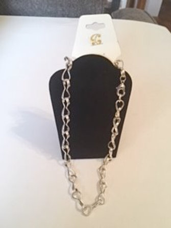Ladies Silver Chain Necklace