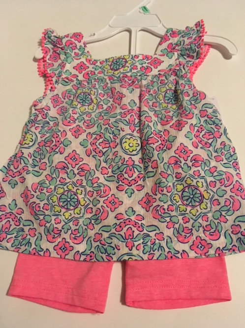 Baby Girls Size 18 Month Carters Shorts Set
