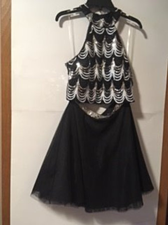 Juniors Size 3 Prom Special Occasion Skirt Top Set