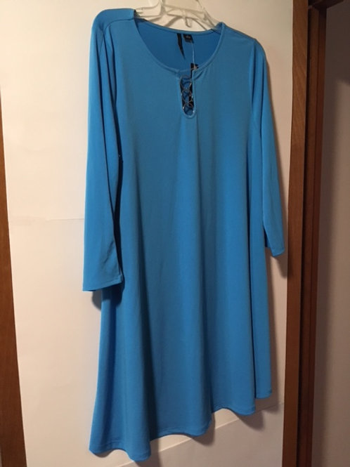 Ladies Size Large Blue Dress