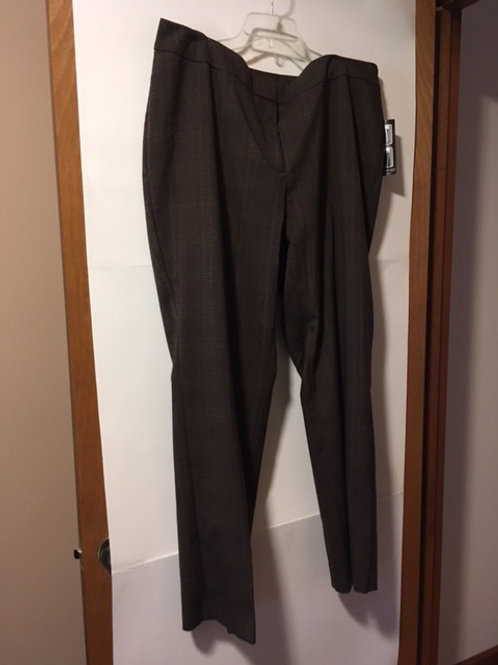 Womens Size 20W Avg Casual Pant
