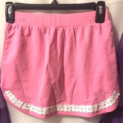 Girls Size Medium Pink Skort