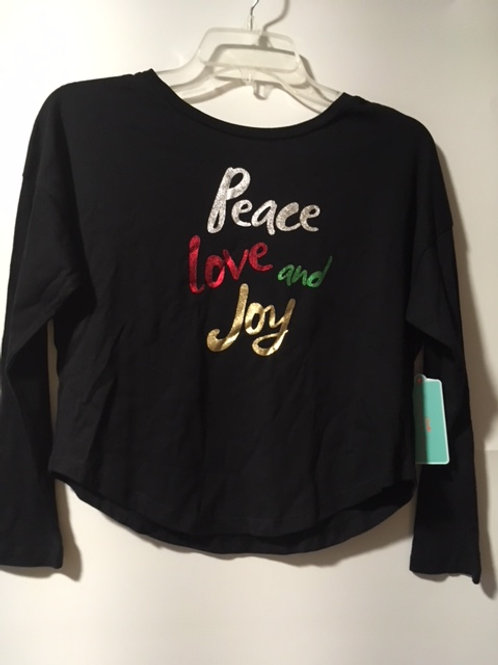 Girls Size Small 7 - 8 Christmas Top