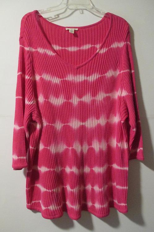 Womens Size 3X Hot Pink Sweater