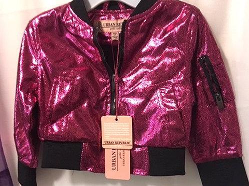 Toddler Girls Urban Republic Hot Pink Zipper Jacket