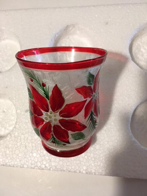 Christmas Glass Votive