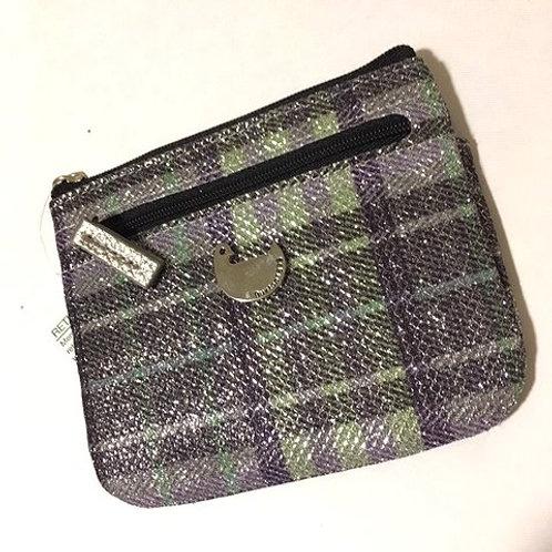 Ladies Purple Green Sparkle RFID Wallet