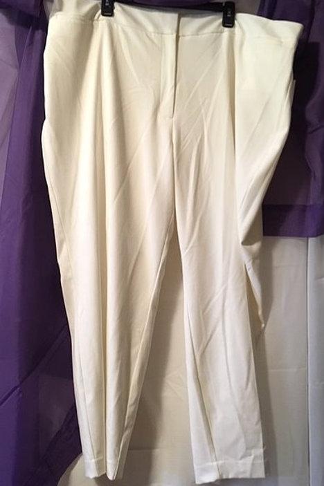 Women's Winter White Dress Slacks