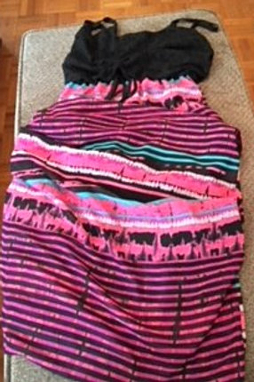Ladies Size Medium 8 - 10 Long Summer Dress