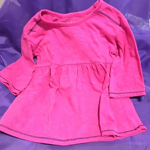 Toddler Girls Size 3T Used Pink Top