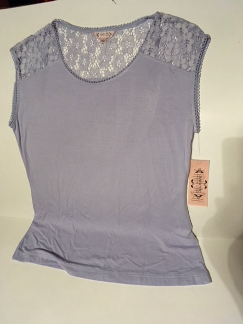 Ladies Small Lilac Sleeveless Top