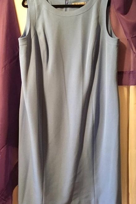 Women's Size 22W Blue Sleeveless Dress