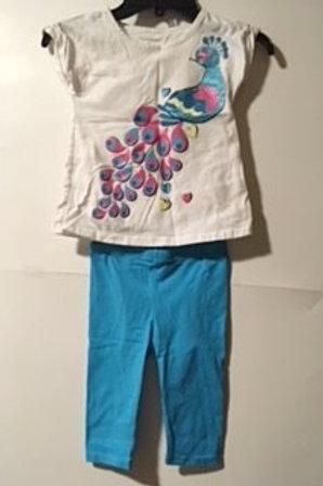 Toddler Girl 3T Used Capri Set