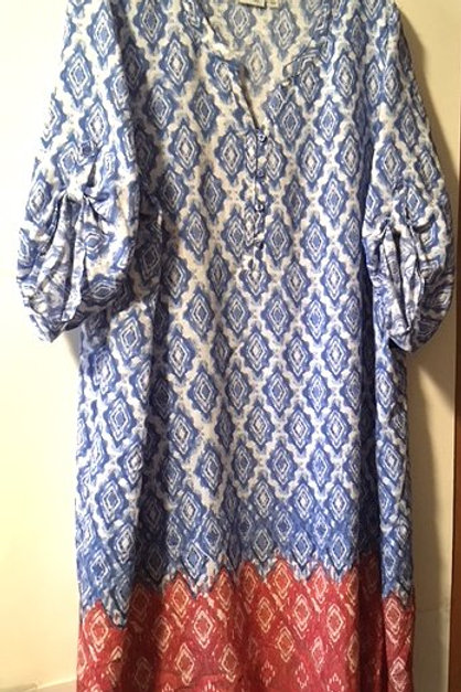 Womens Size 2X Dress With 3/4 Sleeves