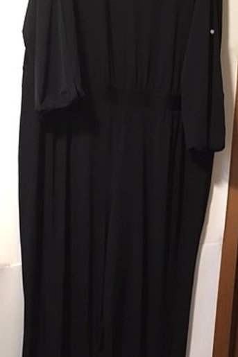 Womens Size 3X Black Special Occasion Jumpsuit