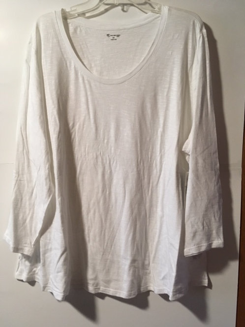 Womens White Essential Top