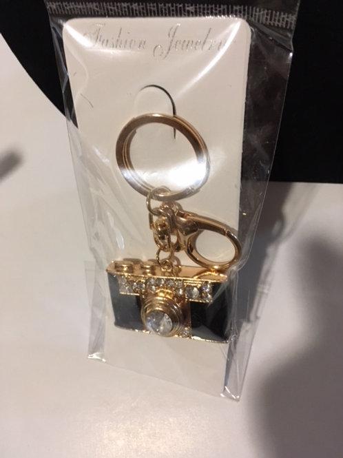 Ladies Camera Keychain