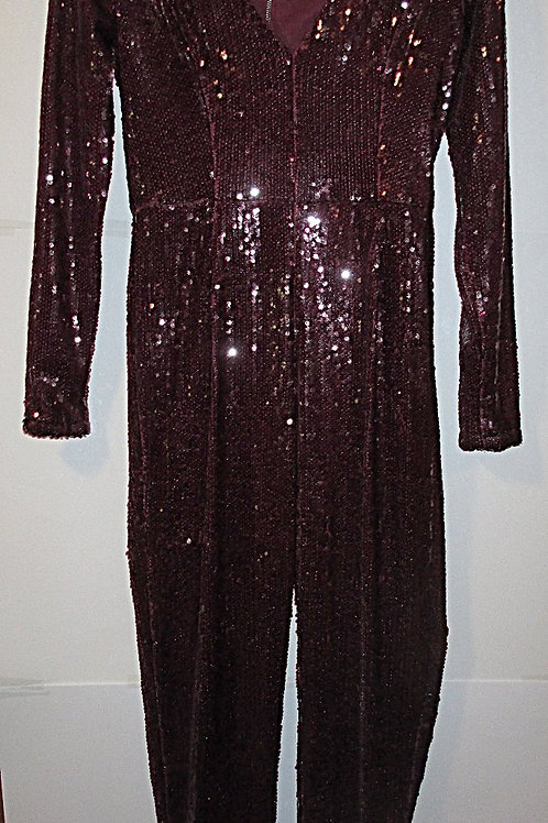 Juniors Size Small Sequined Special Occasion Prom Jumpsuit