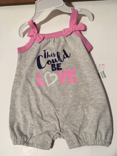Baby Girl Size 6 Month Romper