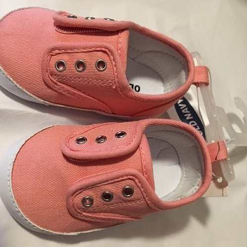 Baby Girls Size 6 - 12 M Coral Cradle Old Navy Shoes