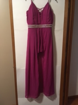Juniors Size 13 Prom Special Occasion Jumpsuit