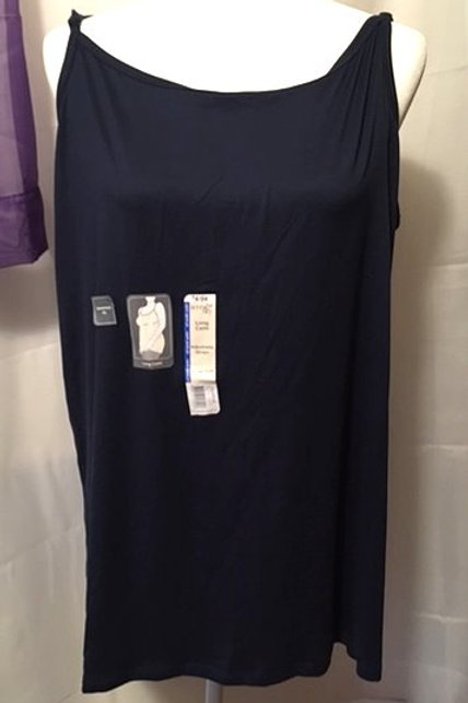 Women's Blue Tunic Length Terra & Sky Cami