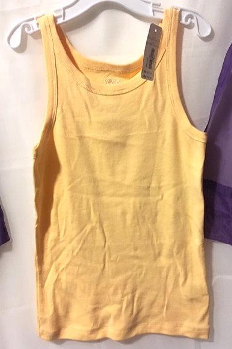 Girls Size Medium Yellow Tank Top