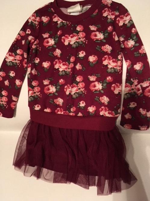 Toddler Girls Size 4 Tutu Dress