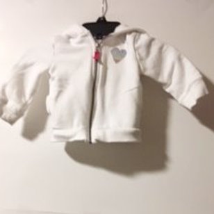 Baby Girls Size 12 Month Used Hoodie Jacket