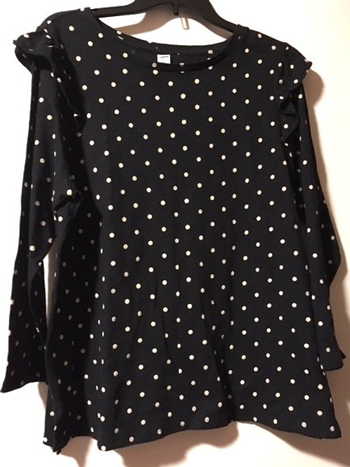 Juniors Size XL Old Navy Black Long Sleeve Top