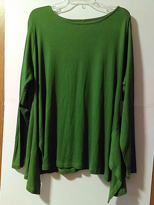 Womens Size 3X Green Top