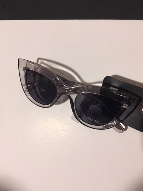 Ladies Clear Frame Sunglasses