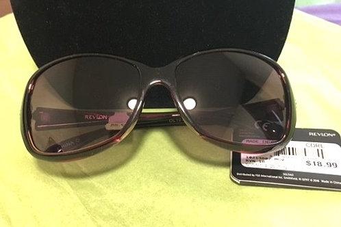 Ladies Dark Purple Frame Sunglasses