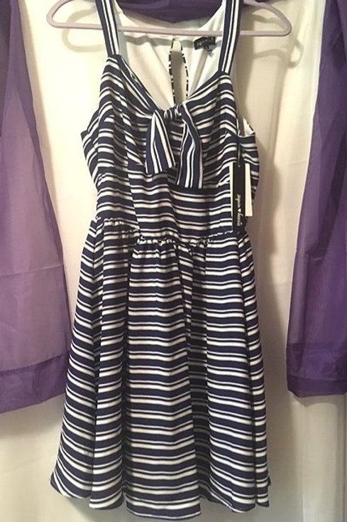 Juniors Size 13 Navy Blue Sleeveless Dress