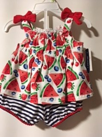 BabyGirl Size 3 Month Crown & Ivy Two Piece Set