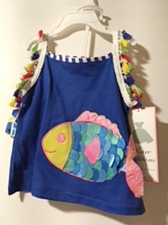 Baby Girls Rare Editions Two Piece Shorts Set