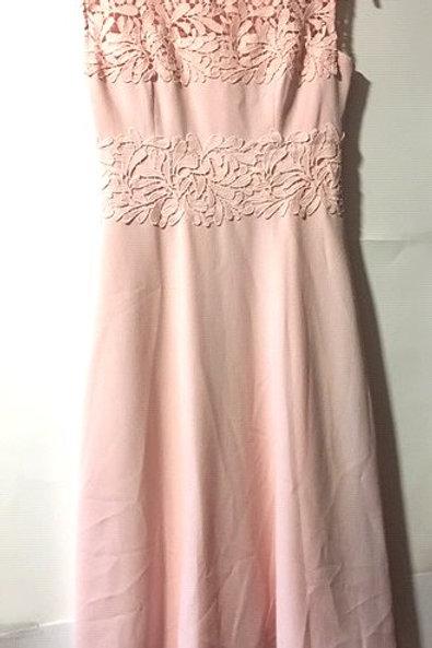 Ladies Petite Size 4 Pink Sleeveless Dress