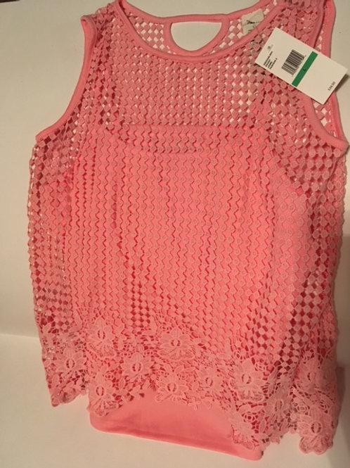 Girls Large Top With Camisole