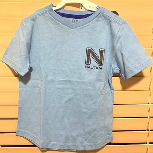 BOYS SIZE SMALL - 4 BLUE TOP BY NAUTICA
