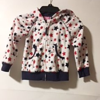 Toddler Girls Size 2 - 3 Years Used Hoodie Jacket