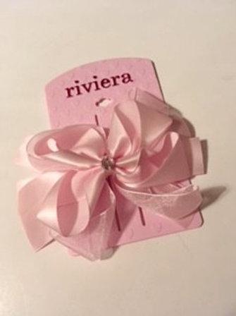 Girls Riviera Pink Hairbow