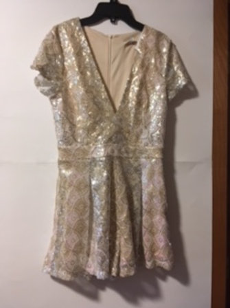 Juniors Size Small Prom Special Occasion Jumpsuit