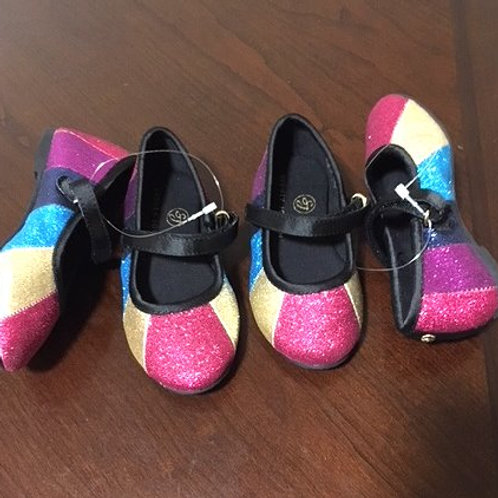 Toddler Girls Multi Color Velcro Strap Sydney Jordan Shoes