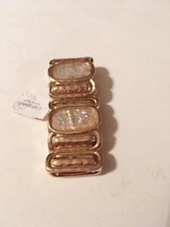 Womens Gold Stretch Bracelet
