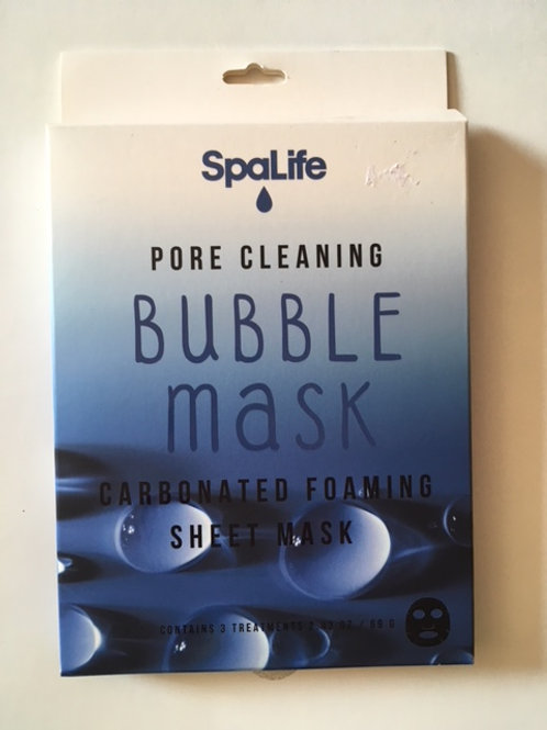 SpaLife Pore Cleaning Bubble Masks