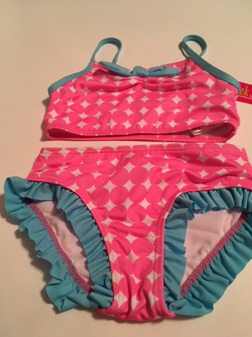 Toddler Girls Size 4T Pink Swimsuit