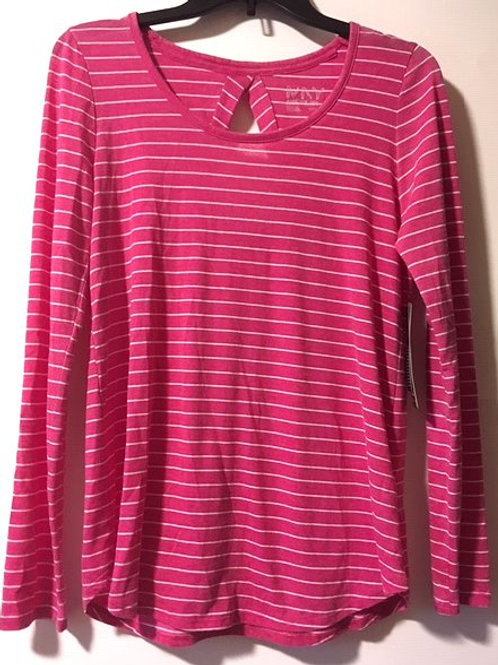Ladies Marc New York Size Small Pink Long Sleeve Top