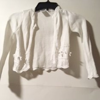 Girls Size Small 4 Used Cardigan Sweater