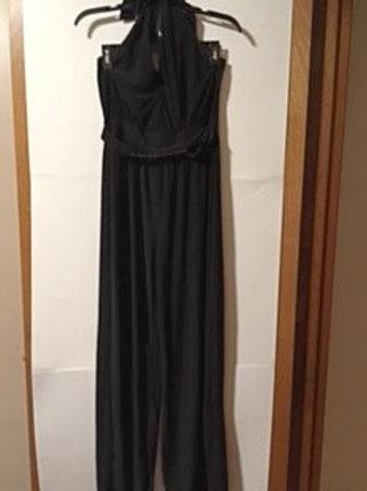 Juniors Size Large Black Jumpsuit