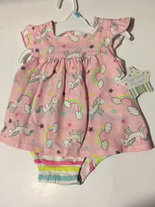 BabyGirl Size 6 month Romper